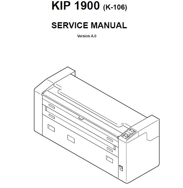 KIP 1900 Service Manual :: KIP Printers, Plotters