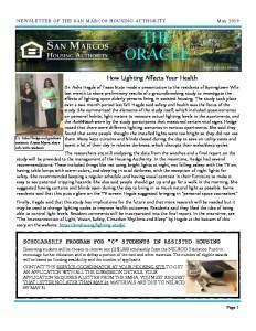 thumbnail of SMHA Oracle – May 2019