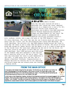 thumbnail of SMHA Oracle – October 2019