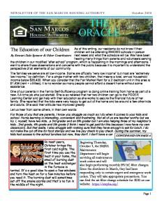 thumbnail of SMHA Oracle – October 2020