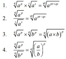 Matematika SMP Bilangan Berpangkat dan Bentuk Akar 5