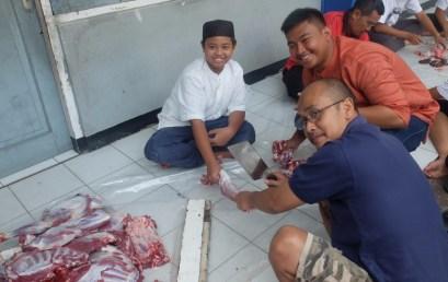 Perayaan Idul Adha 1438H di SMP Budi Luhur