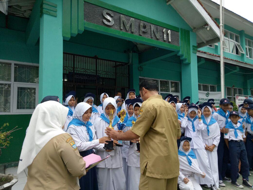 SMP Negeri 11 Kota Cirebon Mempertahankan Prestasi PMR