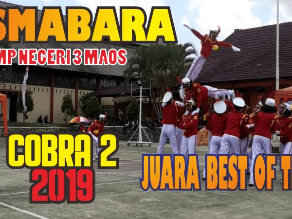 Tim Pasmabara SMP N 3 Maos Juara umum di event COBRA 2