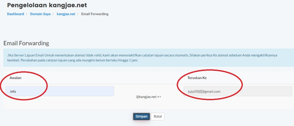 Cara Membuat Email Domain Sendiri