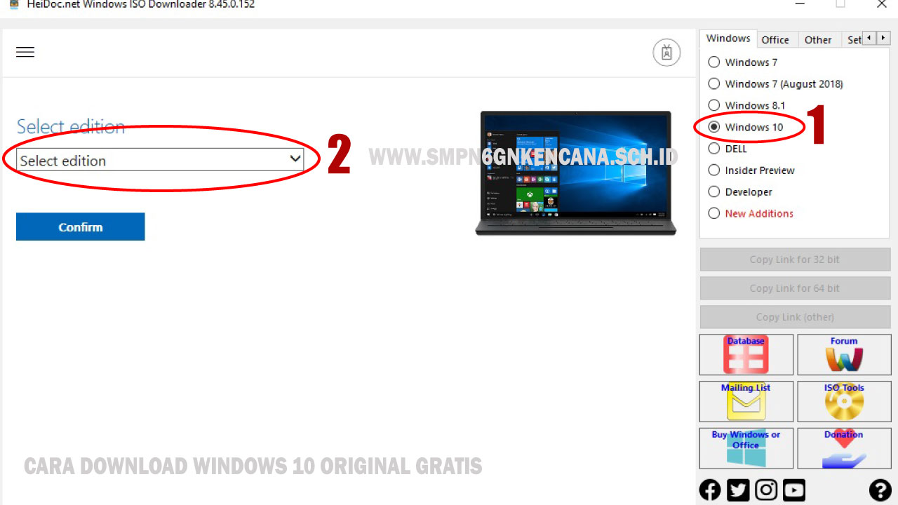 Cara Download Windows 10 Original Gratis