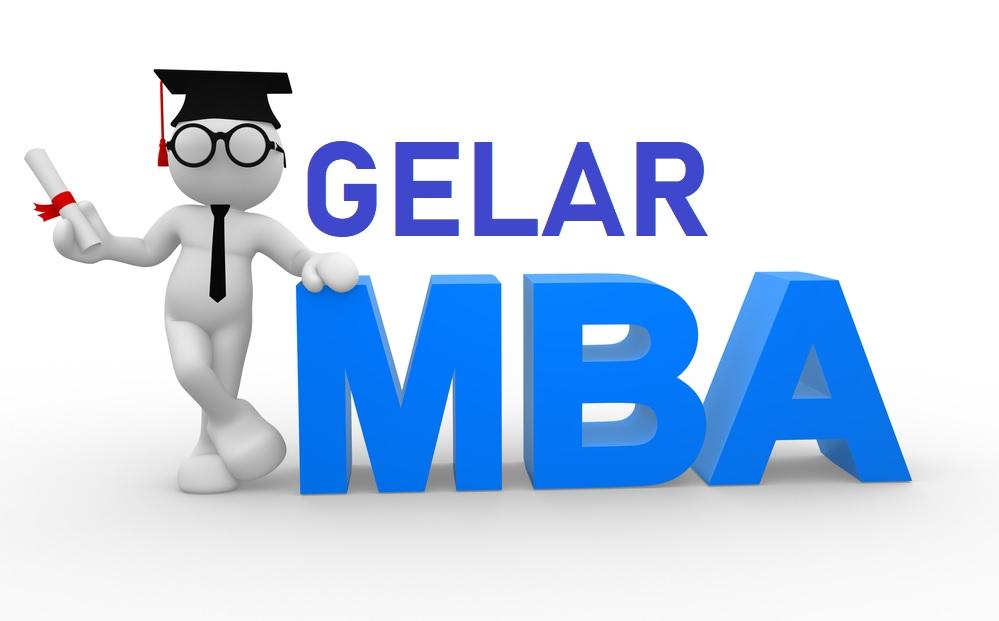 Gelar MBA (master business administration)