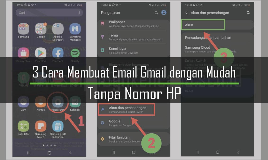 3 Cara Membuat Email Gmail dengan Mudah