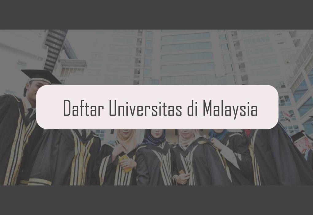 Daftar Universitas di Malaysia