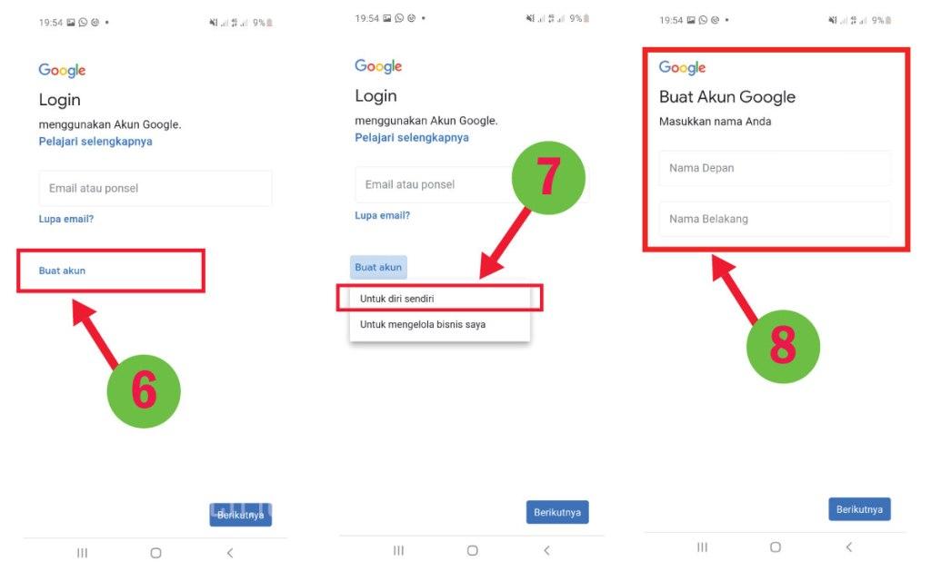 3 Cara Membuat Email Gmail Dengan Mudah Pendidikan Sch Id