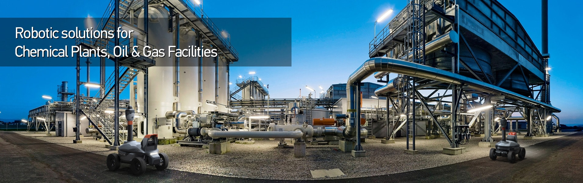 Chemical Plants Oil  Gas Facilities Leak Detection Security Surveillance and Monitoring