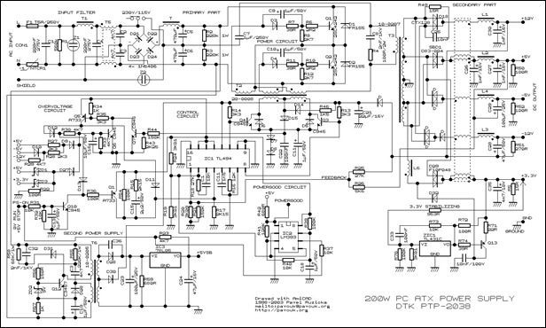 Atx Smps Circuit Diagram - Trusted Wiring Diagram •