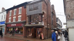 Brick Building, High Street, Barnstaple - ca. early to mid 17th century