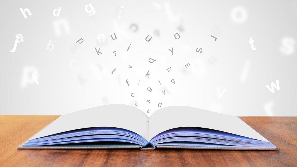literature, book, page
