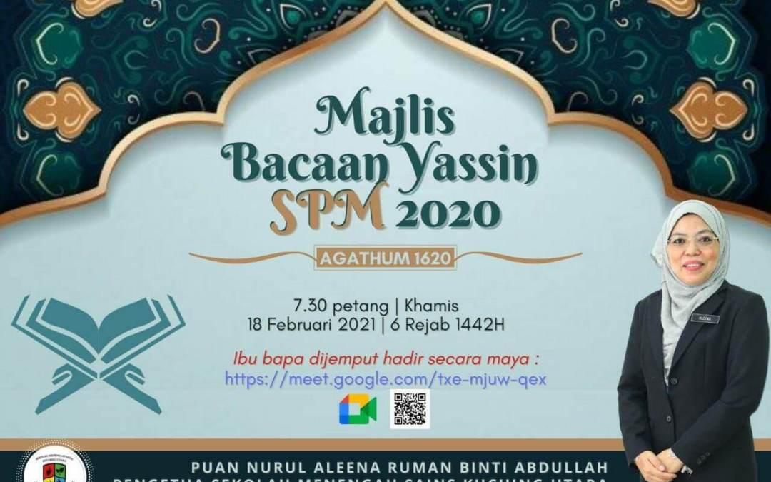 Majlis Bacaan Yassin SPM 2020