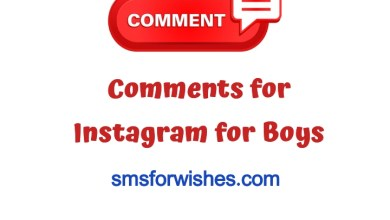 Comments for Instagram for Boys