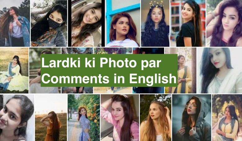 Top 11 Lardki ki Photo par Comments in English in 2021