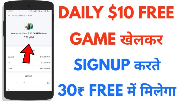Earn Daily 10$ from Free Online income app. Download now