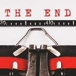 'THE END' typed.
