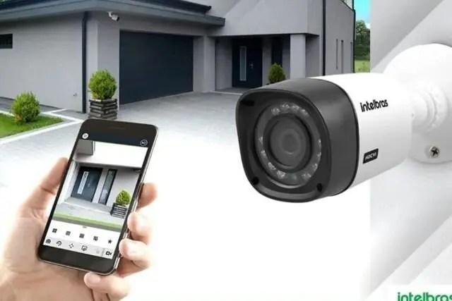 Manutenção de câmeras de Segurança