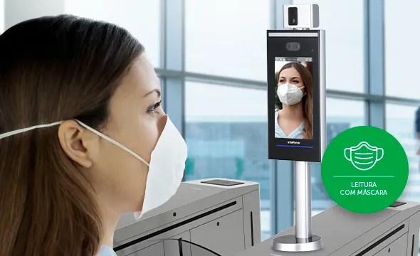 medição de temperatura mesmo com máscara