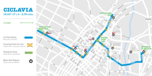 CicLAvia Map Oct 2016