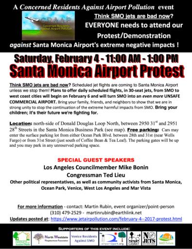Rally / Protest Santa Monica Airport