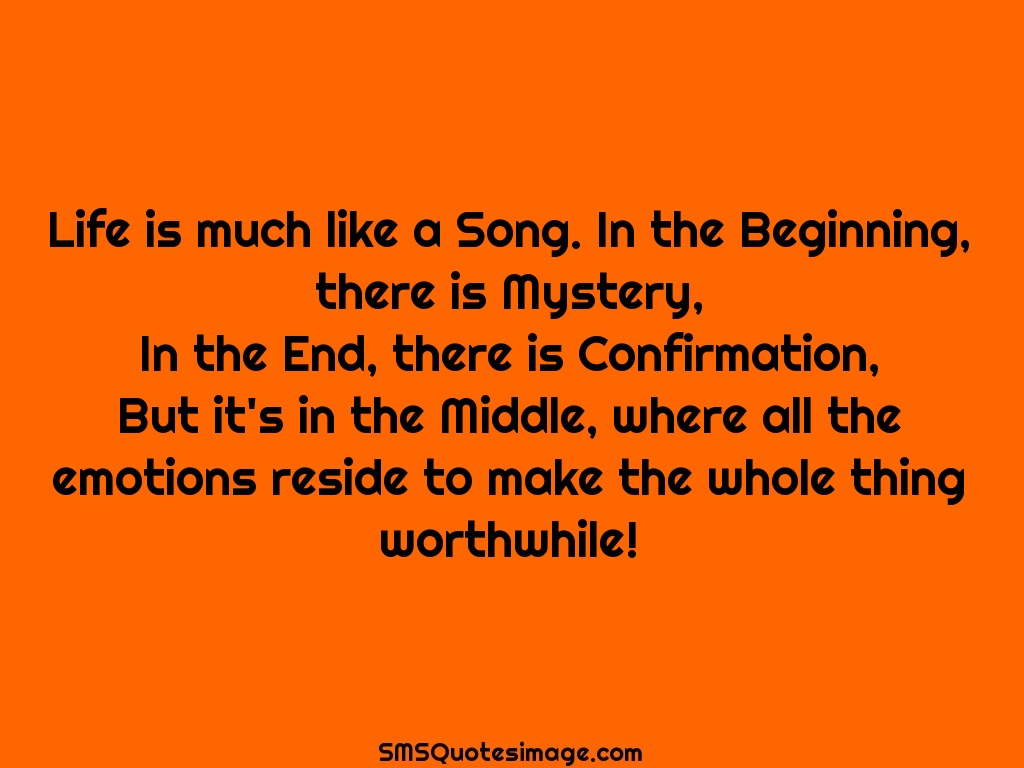 Image result for life in a song