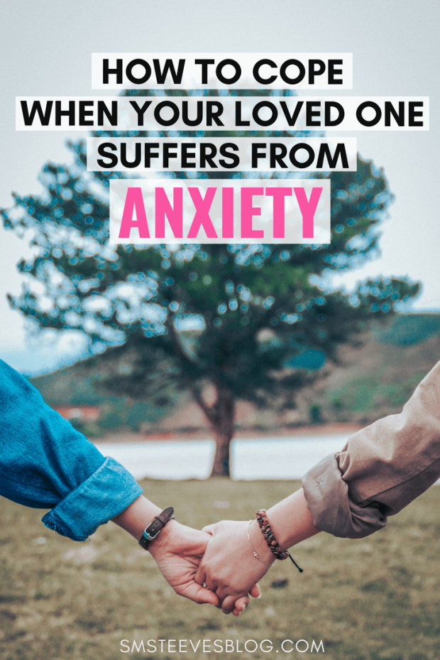If you have a loved one who is suffering from anxiety, you are likely feeling stressed and overwhelmed at times in regards to how to help them. Anxiety symptoms impact families, relationships, & day-to-day functioning and it's common for loved ones of those suffering to feel the weight of these symptoms as well. Here are tips and advice on how to cope with your loved one's anxiety when you are feeling overwhelmed yourself. #anxietyrelief #mentalhealth #tips #relationships #parenting