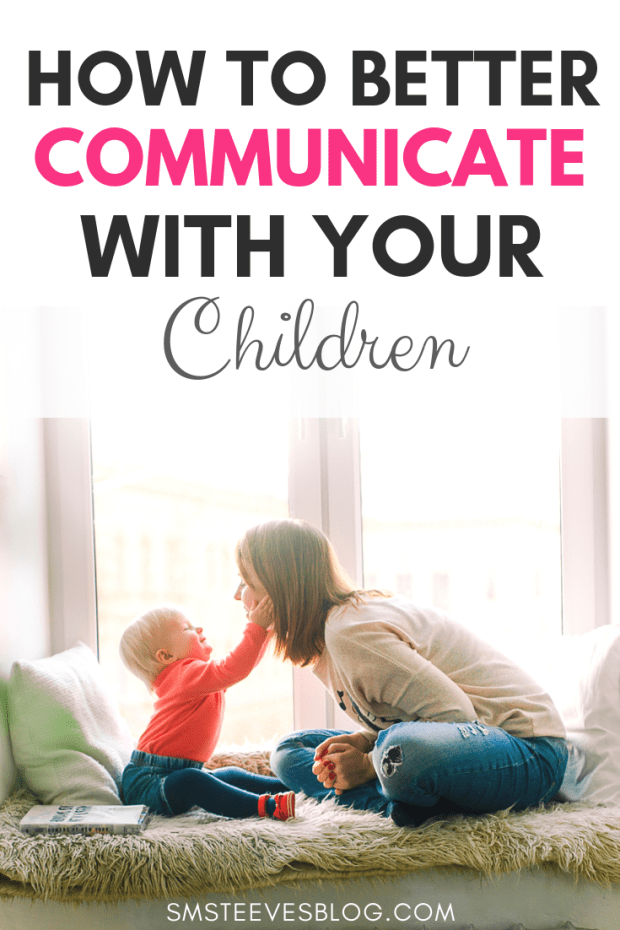Blog post for parents to learn effective ways to better communicate with your children to reduce negative attention seeking behaviors and strengthen the parent and child relationship. #Parenting #Communication #Children #ParentingTips