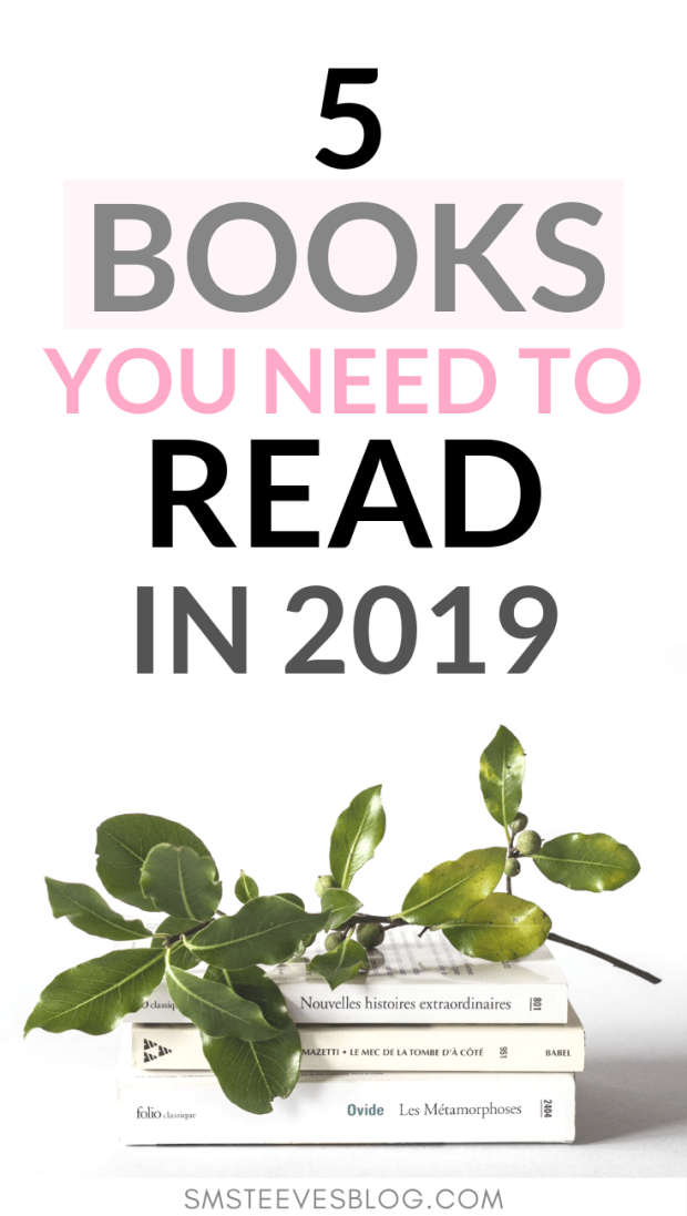 If you're looking for books to read around business, entrepreneurship, or personal growth then check out this post with my top 5 book recommendations for this year. These books will help you feel motivated, inspired, and ready to take on the next chapter in your life. #reading #books #business #entrepreneurship #personalgrowth