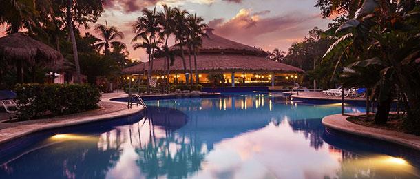 A resort.
