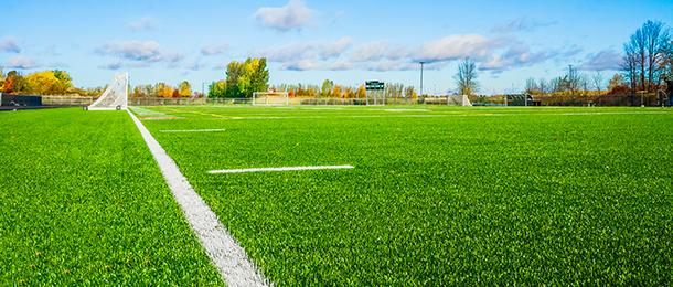 Sports field.