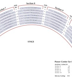 download seating chart for power center orchestra pdf download seating chart for power center balcony pdf  [ 3006 x 1783 Pixel ]