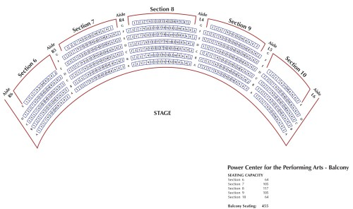 small resolution of download seating chart for power center orchestra pdf download seating chart for power center balcony pdf