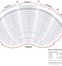 download seating chart for power center orchestra pdf download seating chart for power center balcony pdf  [ 4982 x 3084 Pixel ]