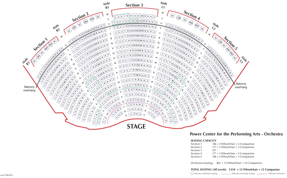 medium resolution of download seating chart for power center orchestra pdf download seating chart for power center balcony pdf