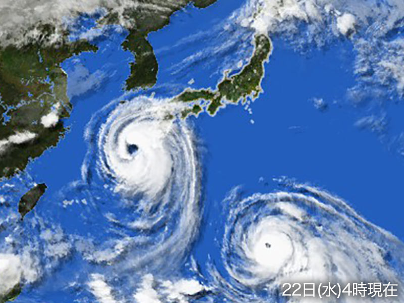 臺風20號 週後半に西日本を直撃へ - ウェザーニュース