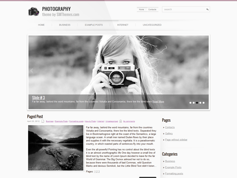 Fotografen Website Wordpress