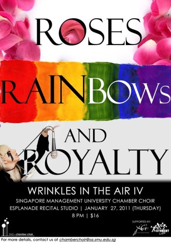 Roses Rainbow Royalty