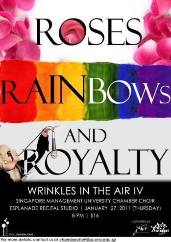 Roses Rainbow Royalty