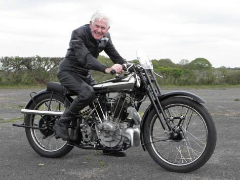Sammy Miller MBE Brough Superior