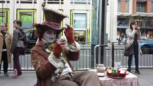 Finding Alice = The Mad Hatter found in London