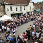 Yayu & The WImborne Folk Festival Gallery
