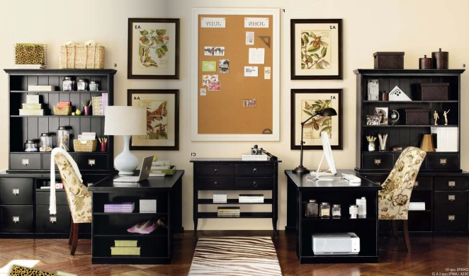 Make your home look like a workplace