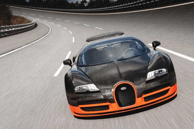 The fastest cars in the world in 2018