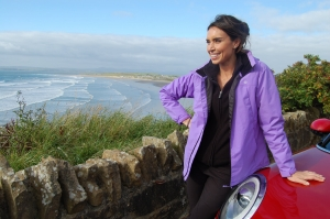 Christine Bleakley at Smugglers Creek Inn