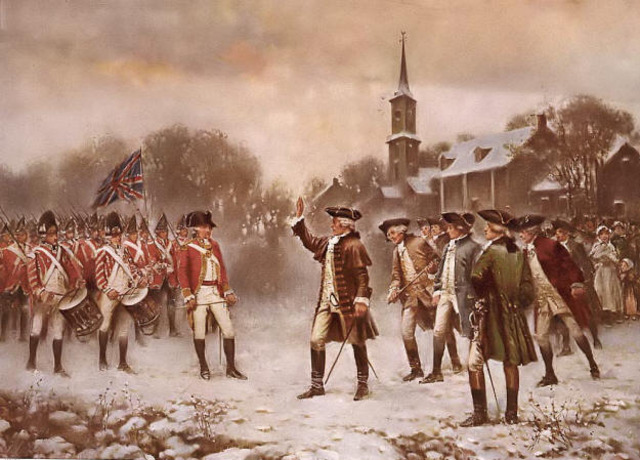 Thanks to the Quartering Act, colonists were expected to pick up the bill for housing His Majesty's soldiers stationed in their colonies. The worst part? Most of the colonists were pretty fed up with the presence of British troops stationed in America and had been since the French and Indian War.