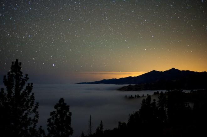 essential night landscape