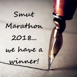 We have a winner for the Smut Marathon 2018!